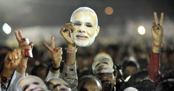 Modi was elected to get India sprinting, but all he's doing is screen the movie in fast motion