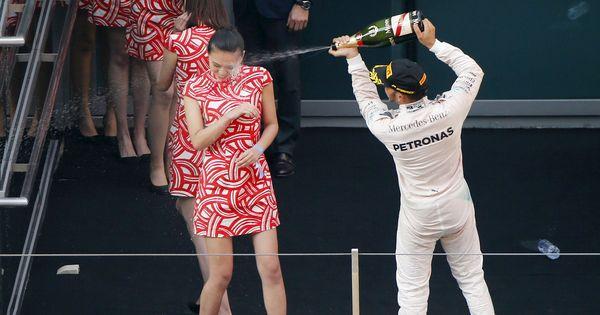 F1 With Grid Girls Set To Return At Monaco Gp Hamilton Vettel Welcome Back Beautiful Women