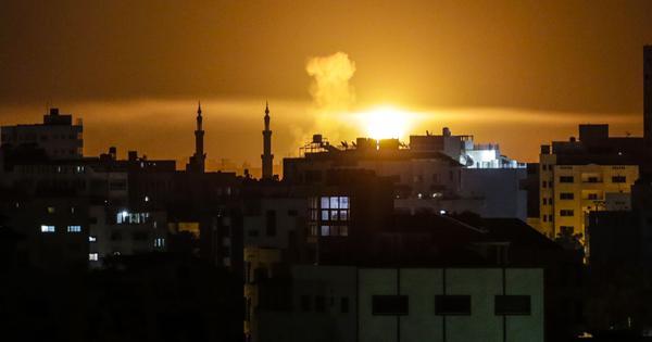 Israel strikes Hamas targets in North Gaza during air raids