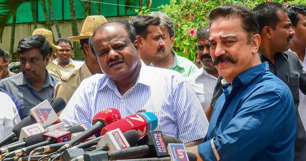 'Karnataka, TN to share Cauvery water, no two ways about it': Kamal Haasan after meeting Kumaraswamy