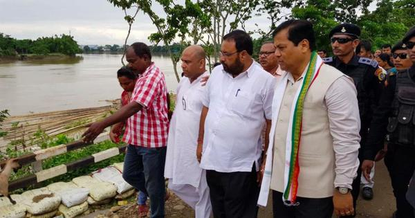 Assam floods: Chief minister announces Rs 100-crore aid for relief work in Barak Valley