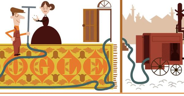 Google celebrates 147th birth anniversary of British inventor Hubert Cecil Booth