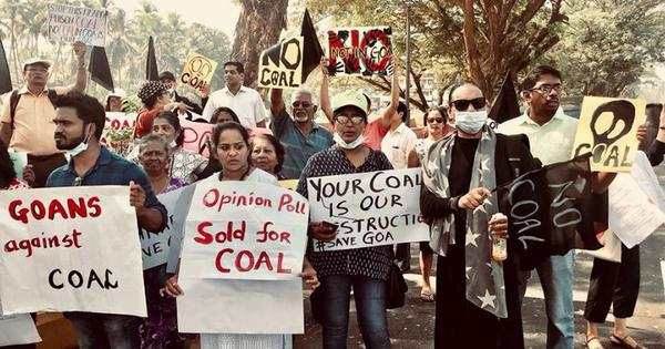 Goa allows dirty coal handling facility to restart so it can study how bad the pollution actually is