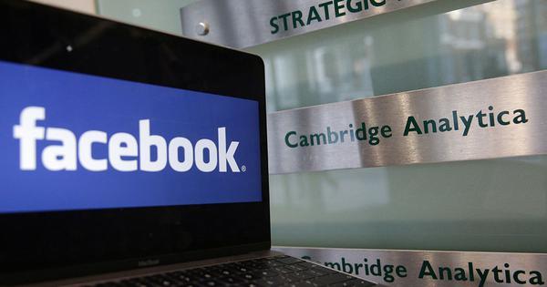 Cambridge Analytica scandal: UK's data protection watchdog to fine Facebook £5,00,000