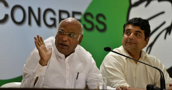 Congress leader Mallikarjun Kharge again declines Centre's invitation to Lokpal selection meeting