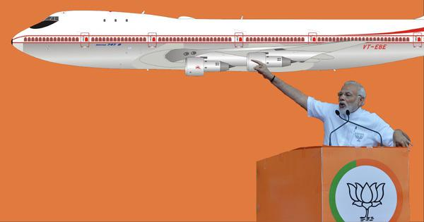 Data check: How often does Narendra Modi travel – and how much of it is on BJP work?