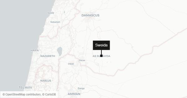At least 50 killed, 78 injured in a series of bomb attacks in southwestern Syria