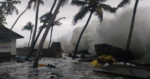 Coastal erosion ravages Kerala village and reignites debate over how to protect homes from the sea