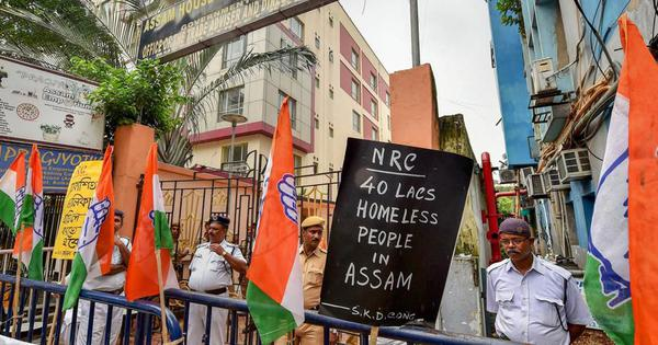 Worried that the BJP may be winning the perception battle, Congress carefully changes stance on NRC