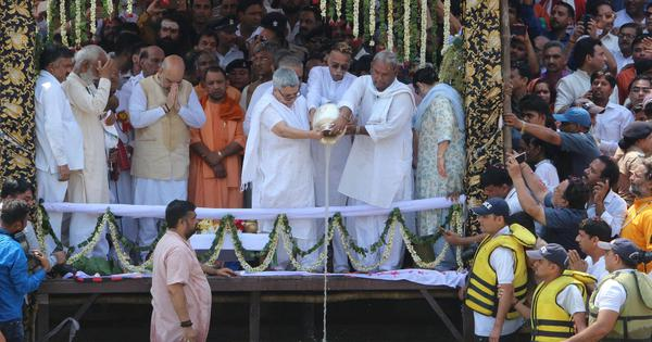 BJP's plan for Vajpayee memorials, kalash yatra has Congress worried about impact on key elections