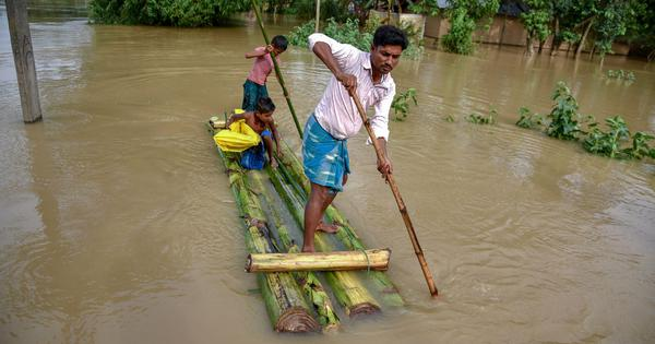 Due to an 'accounting error', Assam has not received any special Central flood aid since 2014