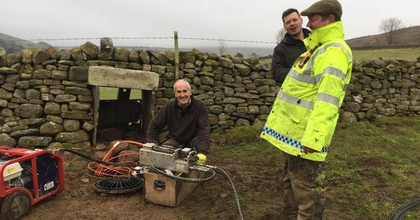 Villagers in Britain are building community broadband networks that rival speeds of big providers