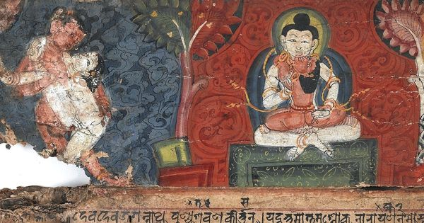The Buddhist monk from Tibet who gave up his monastic vows in India and advocated sexual freedom