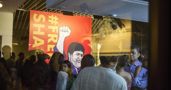 At Dhaka exhibition of jailed photographer Shahidul Alam's works, the theme is democracy