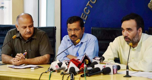 Aam Aadmi Party says it will no longer publish a list of its donors on website