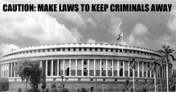 Supreme Court to Parliament: Make law to curb those with serious criminal charges entering politics