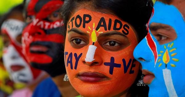 The number of new HIV cases in India is falling but not fast enough and there's a risk of resurgence