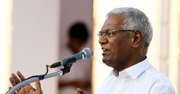 D Raja appointed CPI general secretary, says Left will keep fighting Centre's 'retrograde policies'