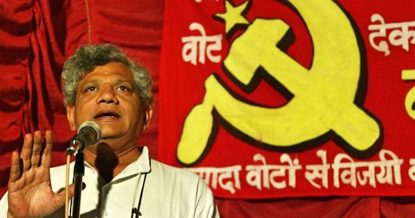 Centre had benefit of low global oil prices since 2014, but taxes were raised, says Sitaram Yechury