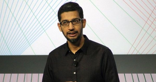 Sundar Pichai named CEO of Google's parent company Alphabet