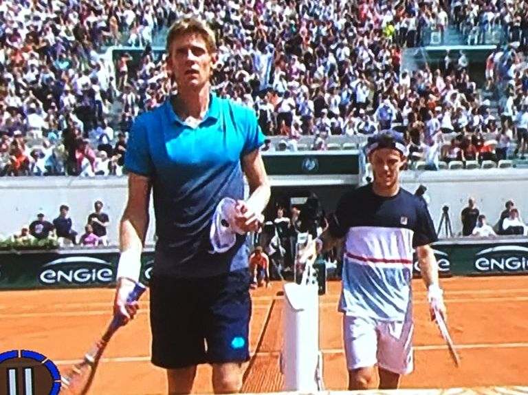 French Open 2018 Diego Shorty Schwartzman Slays One Giant And Now Runs Into Another