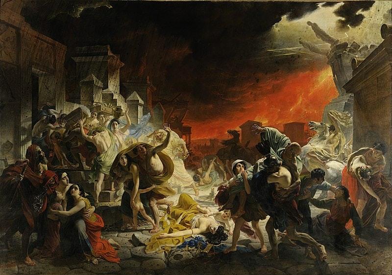 """""""The Last Days of Pompeii"""""""