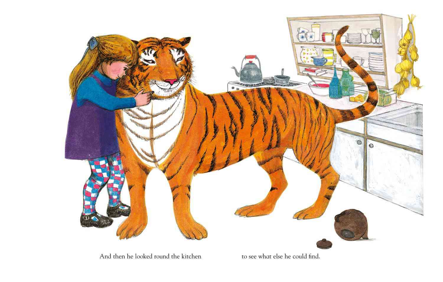 """From """"The Tiger Who Came To Tea"""""""