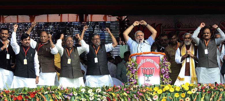 Caste politics neutralises Modi wave in Bihar, BJP in race for only 9 seats