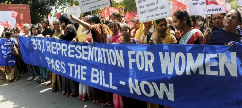 Even India's neighbours have more women in parliament