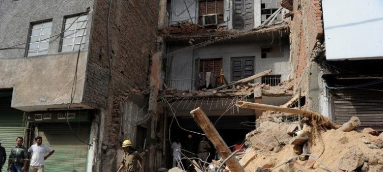 Across India 2600 people die every year in building and other structural collapses
