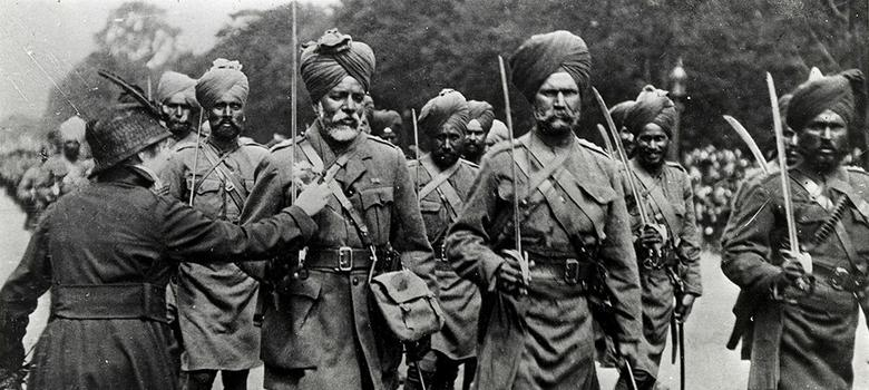 Rare images of Sikh soldiers who fought in World War I