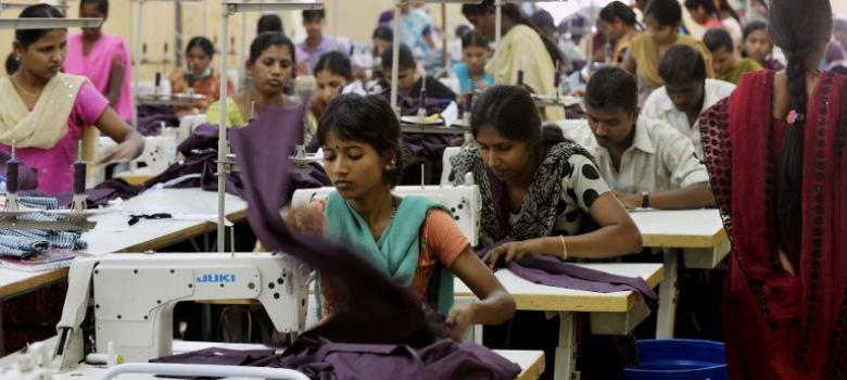Garment workers protest in Chennai, but minimum wages are low across India