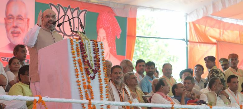 As Amit Shah kicks off campaign, BJP is hoping to ride Modi wave to its first victory in Haryana