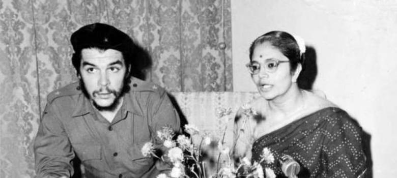 When the introverted Che Guevara did a headstand in Delhi