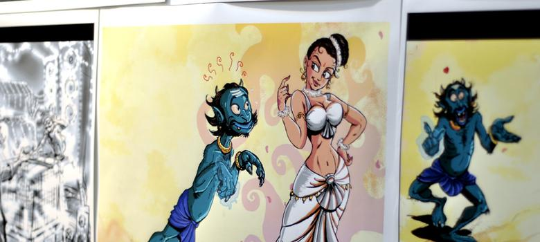 Don't Indian comics and graphic novels need writers anymore?