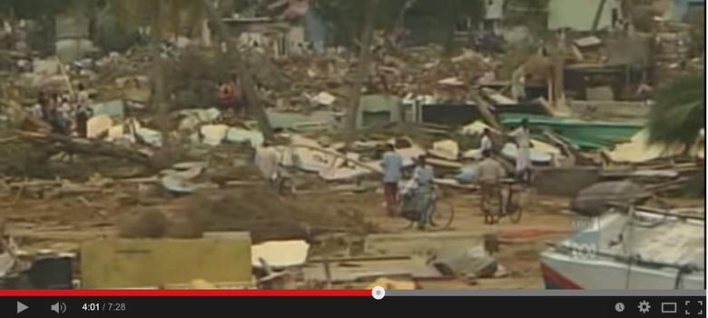 Five videos that show the destructive force of the 2004 Indian Ocean tsunami