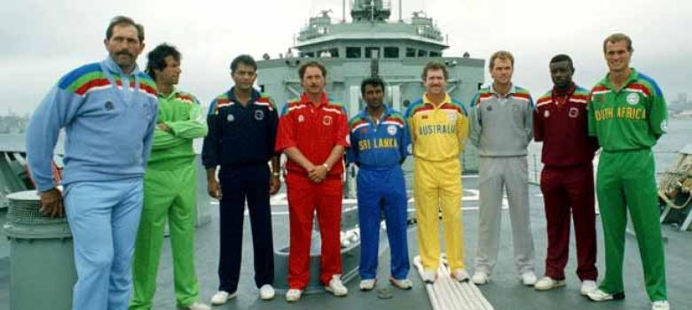 Pictures: Evolution of World Cup jerseys from cricket whites to coloured pyjamas