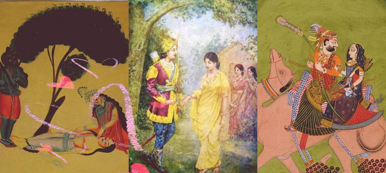 Six somewhat sinister Valentines from Indian myths