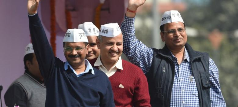 500 CCTVs every day and 23,000 water connections every month: this is what AAP has promised Delhi