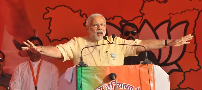 Modi says MNREGA will continue as a living monument to Congress failure