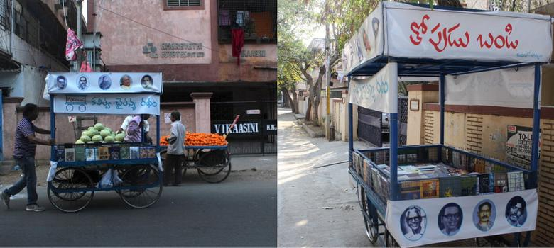 Meet the Hyderabad marriage bureau owner who peddles poetry from a pushcart