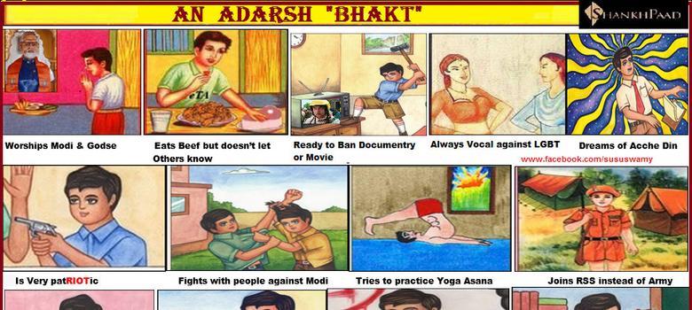 Liberal poster boys battle Adarsh Sanghis in hilarious Twitter war