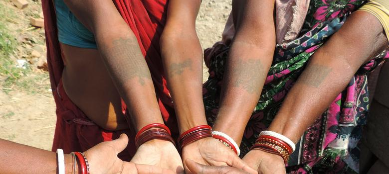 From marks of status to a kind of jewellery, tattoos are part of a centuries-old Indian tradition