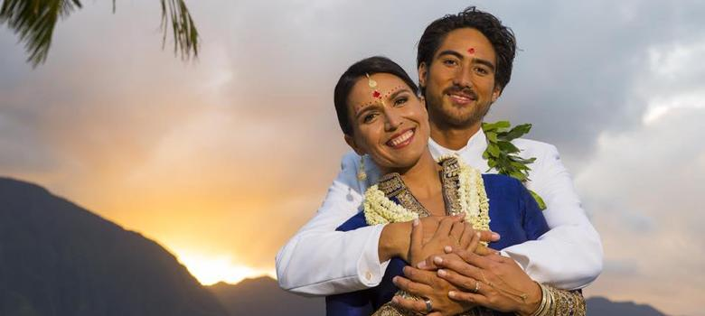 Photos: US Congresswoman Tulsi Gabbard's postcard-perfect Vedic wedding in Hawaii