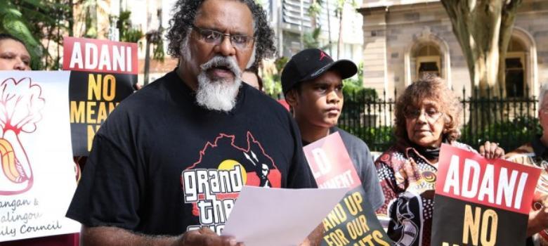 Australian aboriginals vs Adani Mining: 'We reject any land-use agreement'
