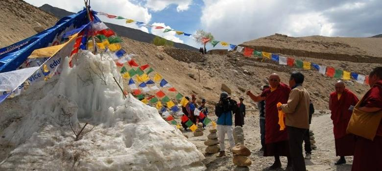 As Himalayan glaciers disappear, Ladakhi farmers search for the ideal artificial substitute