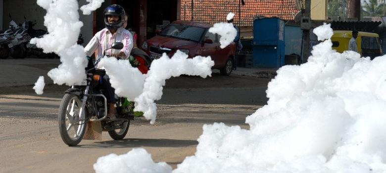 Why have Bengaluru's lakes started foaming mysteriously?