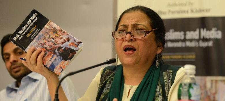 Modi is like a new bride refashioning herself for a wealthy sasural, says Madhu Kishwar
