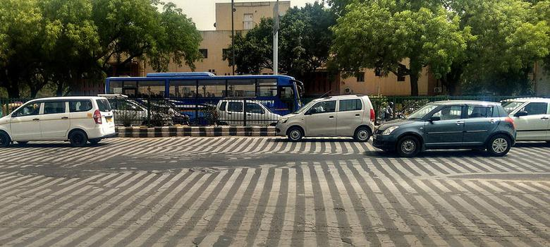 It feels like a furnace outside, but is it really hot enough in Delhi to melt a road?