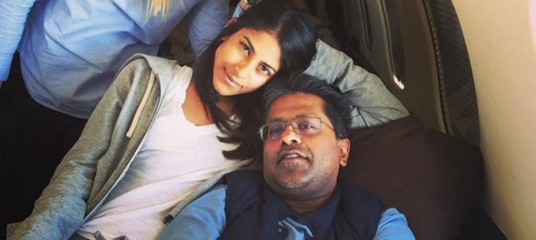 If Lalit Modi is a fugitive from the law, how is he allowed to travel around the world?